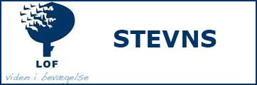 Logoet er et link til LOF Stevns' hjemmeside