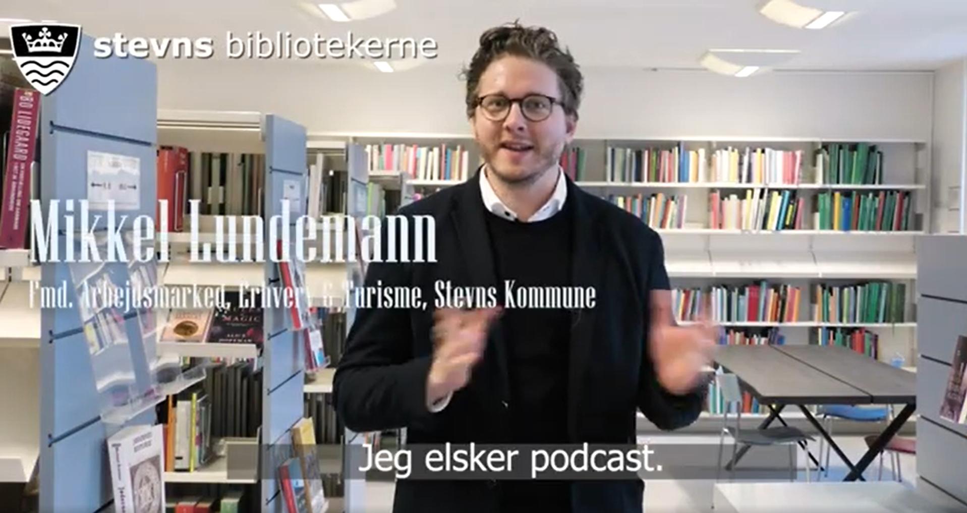 Link til youtube-video med Mikkel Lundemann