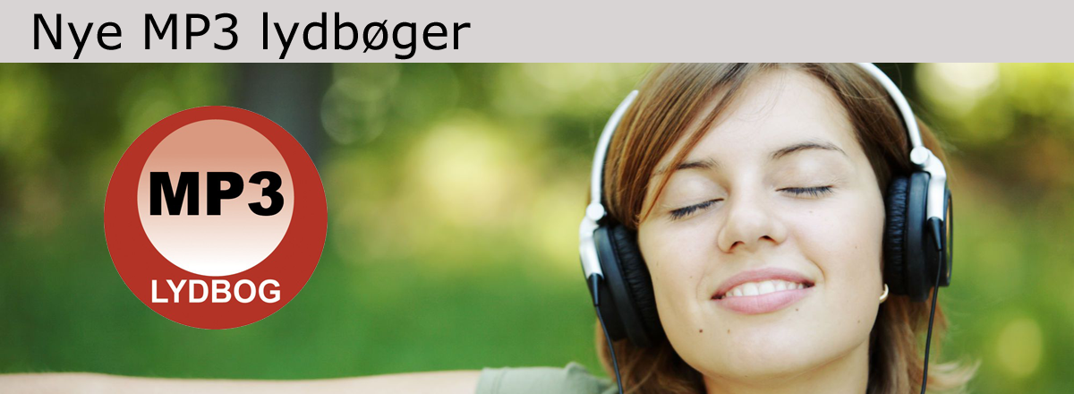 Nye MP3 lydbøger