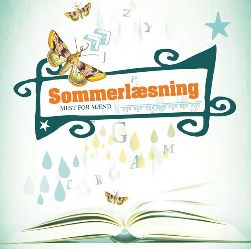 Sommerlæsning for mænd - klik for folder