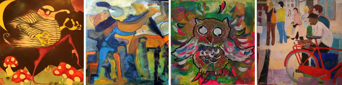 Kulturloftet: forskellige kunstnere