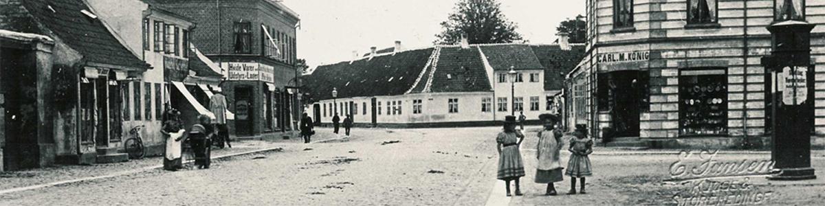 Store Heddinge sidst i 1800-tallet
