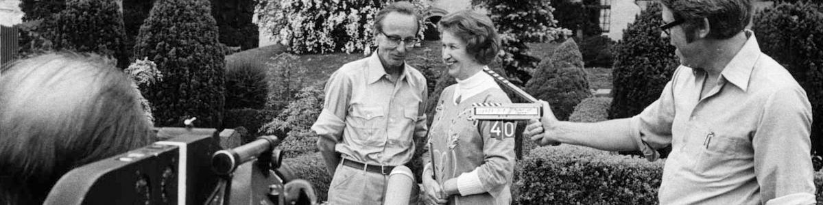 Niels E. Nielsen og Dagmar Nielsen interviewes 1977